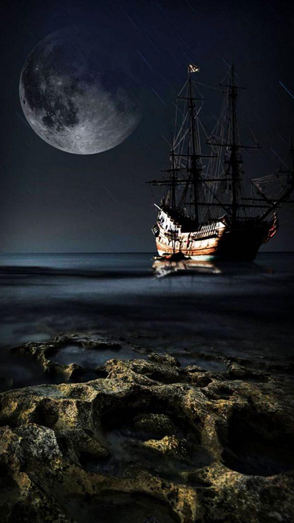 iphone wallpapers hd خلفيات ايفون أيفون خلفيات ضوء القمر الساحره Dark Moonlight