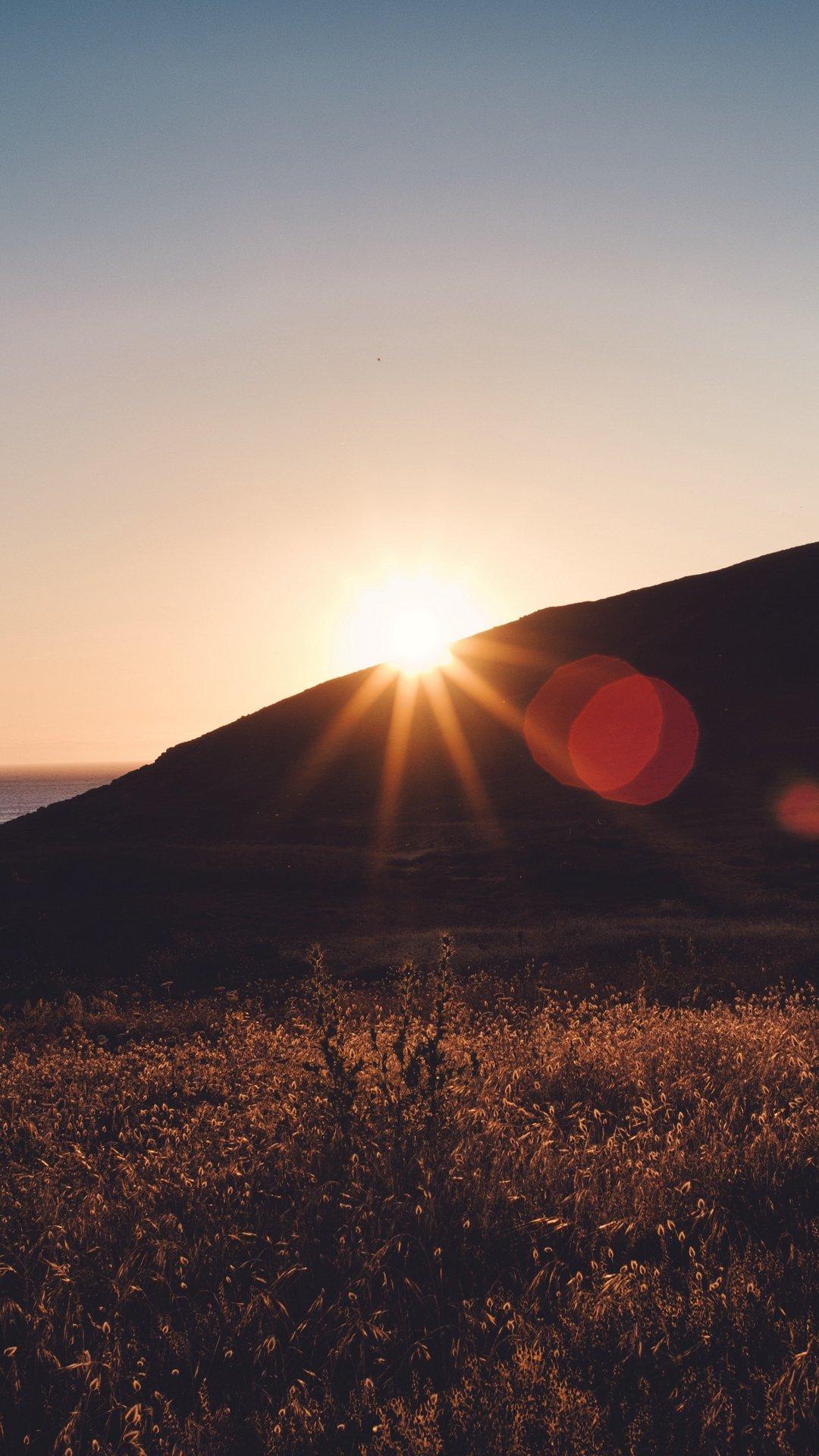 خلفيات ايفون 11 Hd شروق الشمس روعة مربع