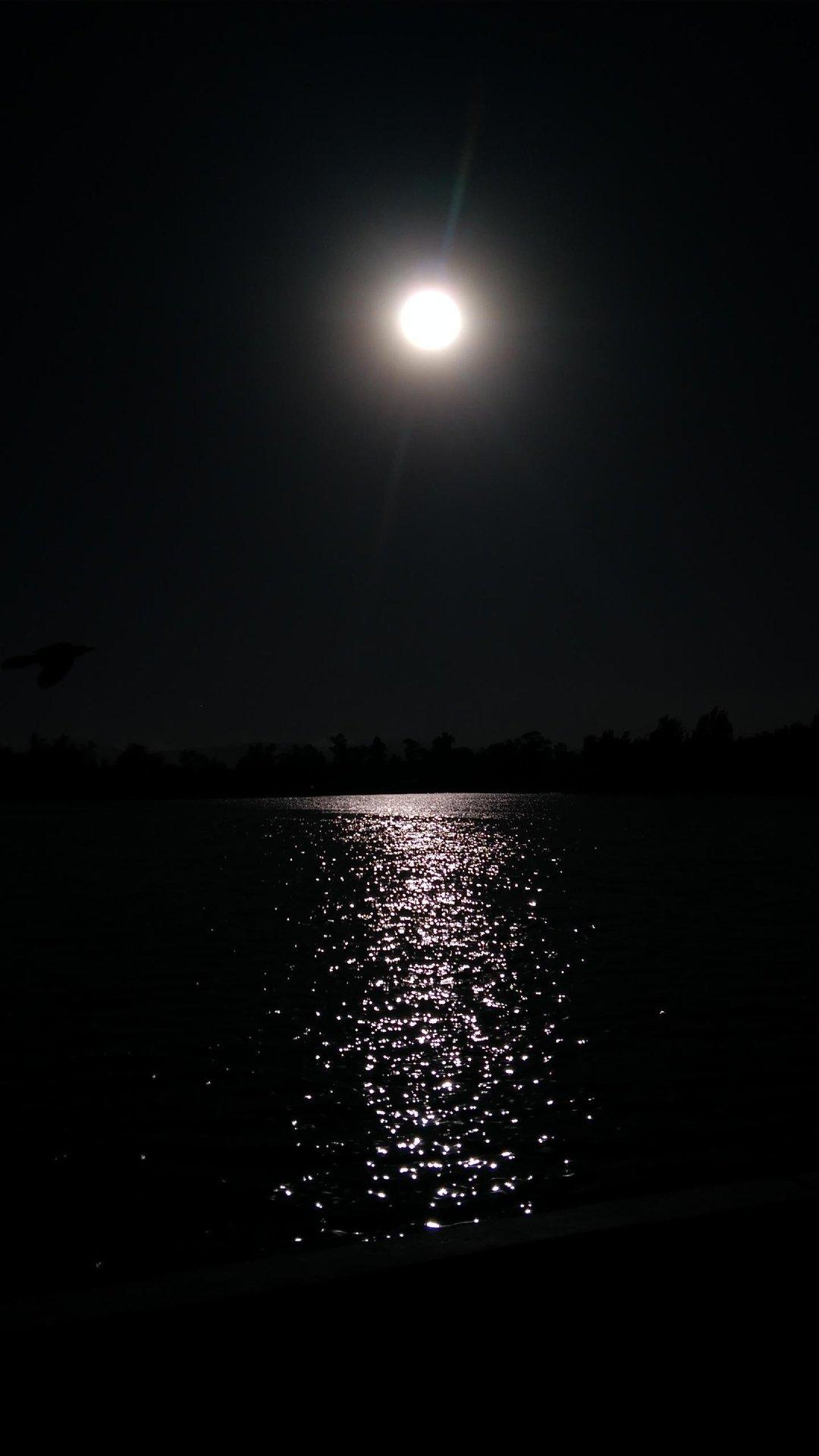 خلفيات سوداء حزينة ليل Hd مربع