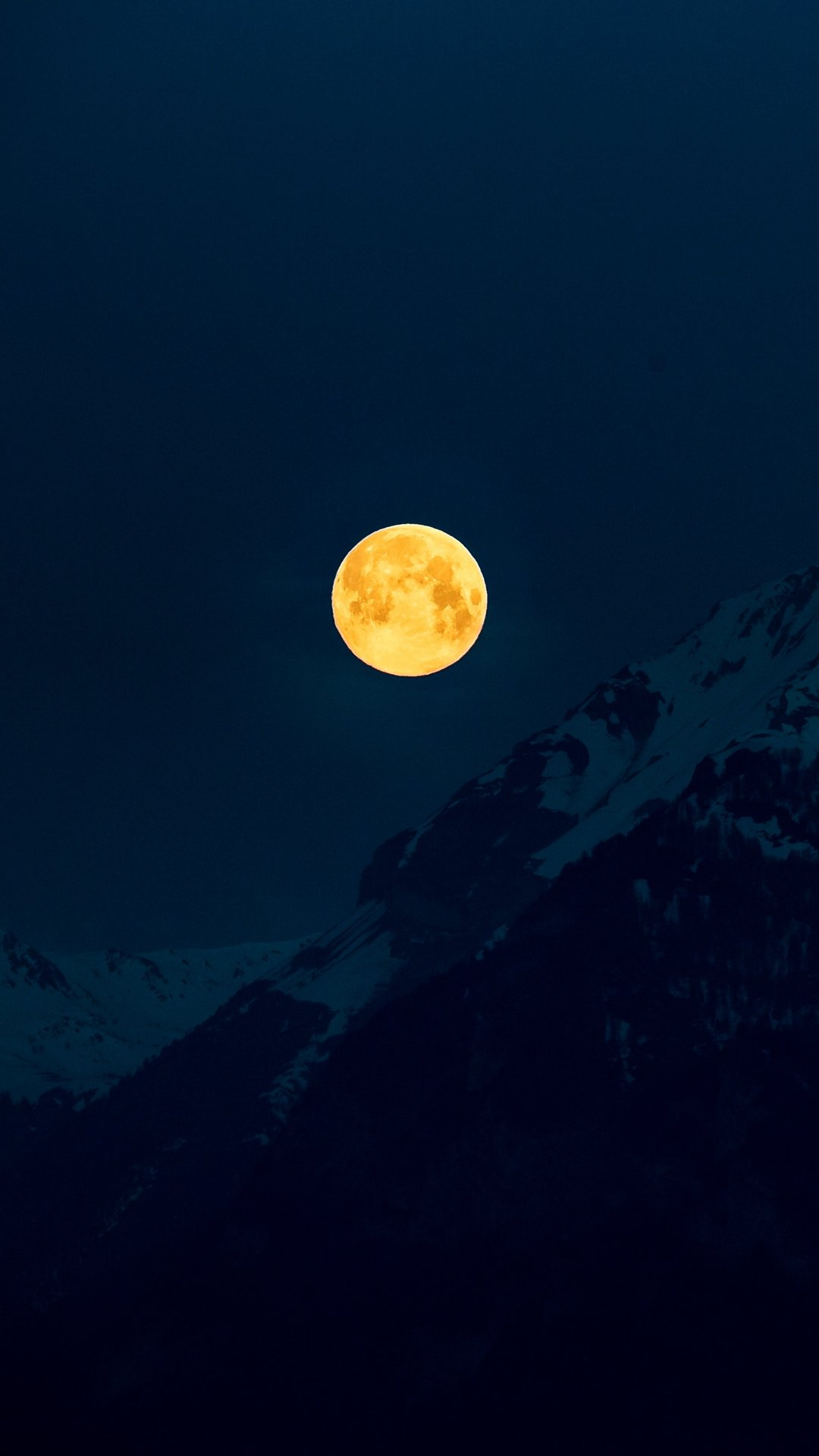 خلفيات ايفون طبيعة ليل قمر للموبايل Hd 2020 مربع