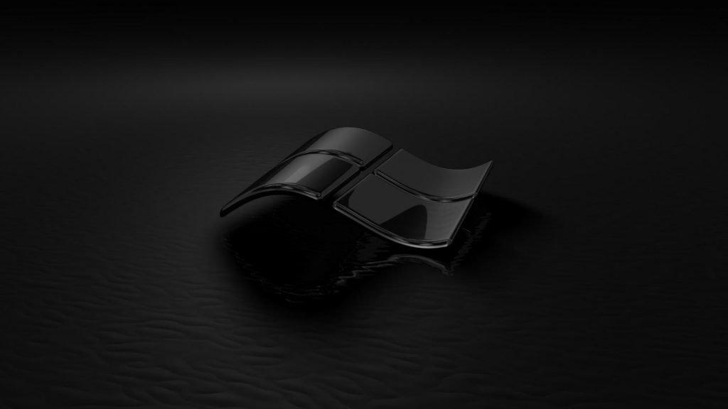 خلفيات سطح المكتب ويندوز سوداء 10 Hd مربع