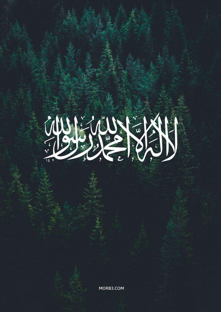 صور خلفيات اسلامية للموبايل ايفون Hd 2020 لا اله الا الله محمد