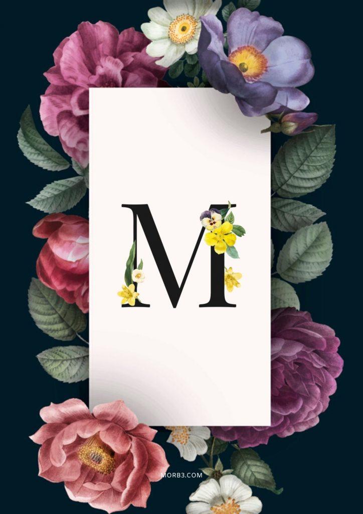 صور حرف M رومانسيه رمزيات حرف ميم خلفيات حرف M