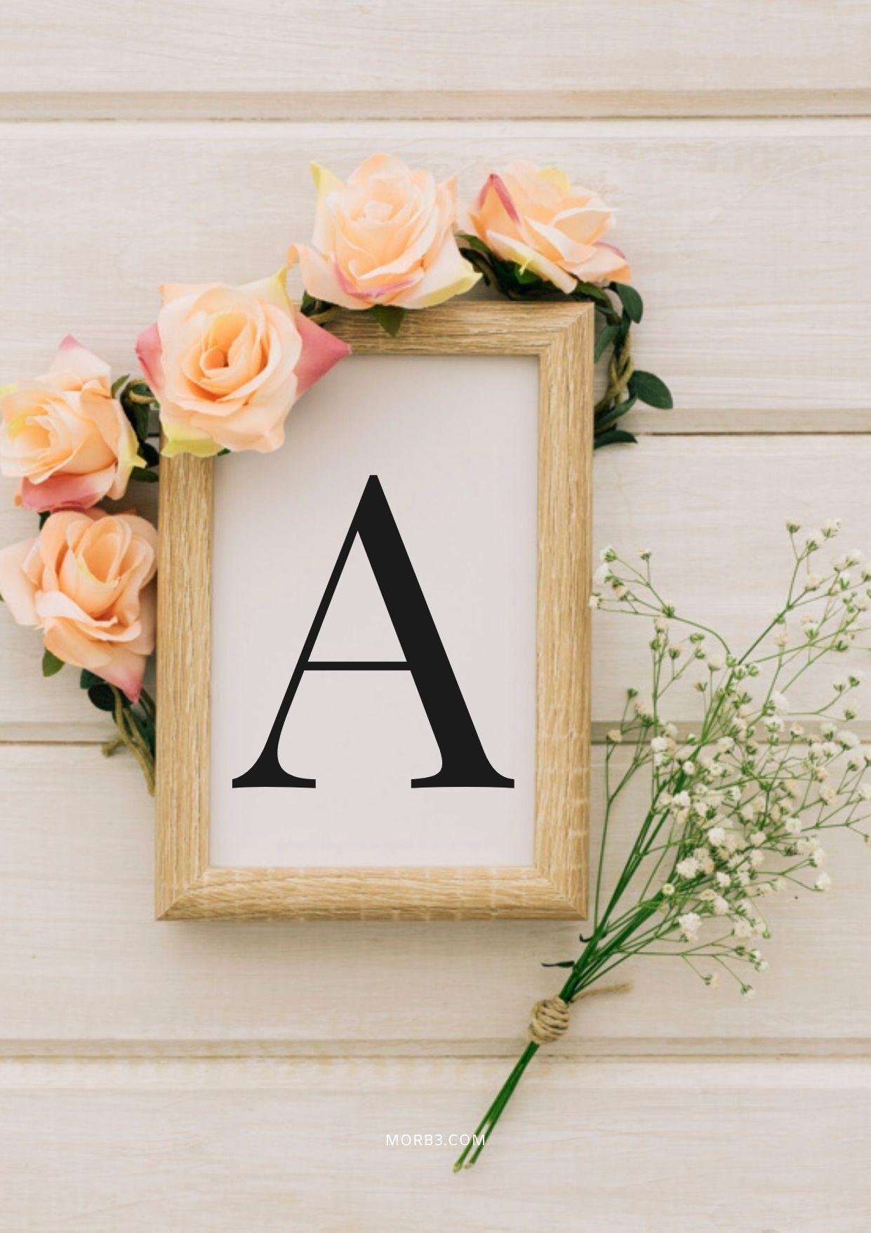 اجمل صور حرف A مع حرف A 6