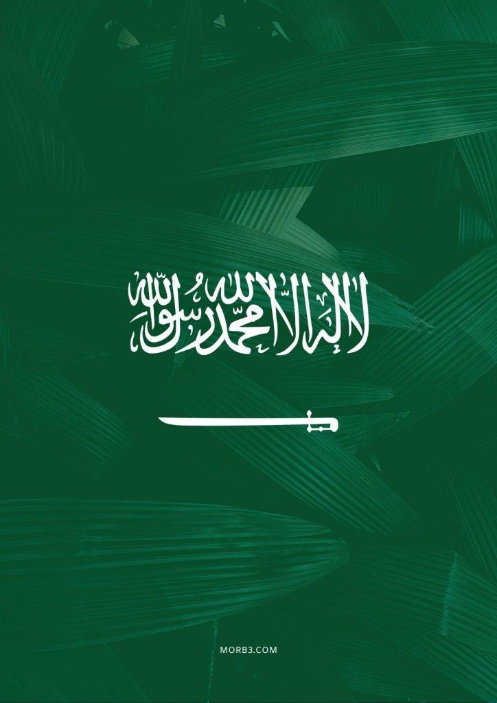 علم السعودية خلفية ايفون
