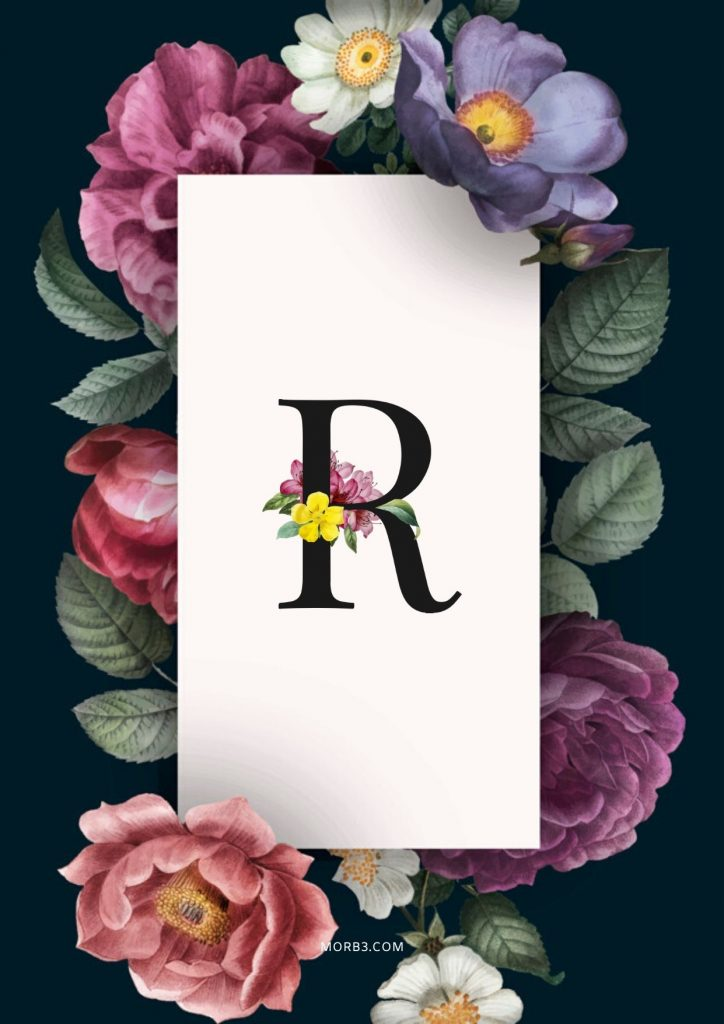 صورحرف حرف R باشكال حلوه